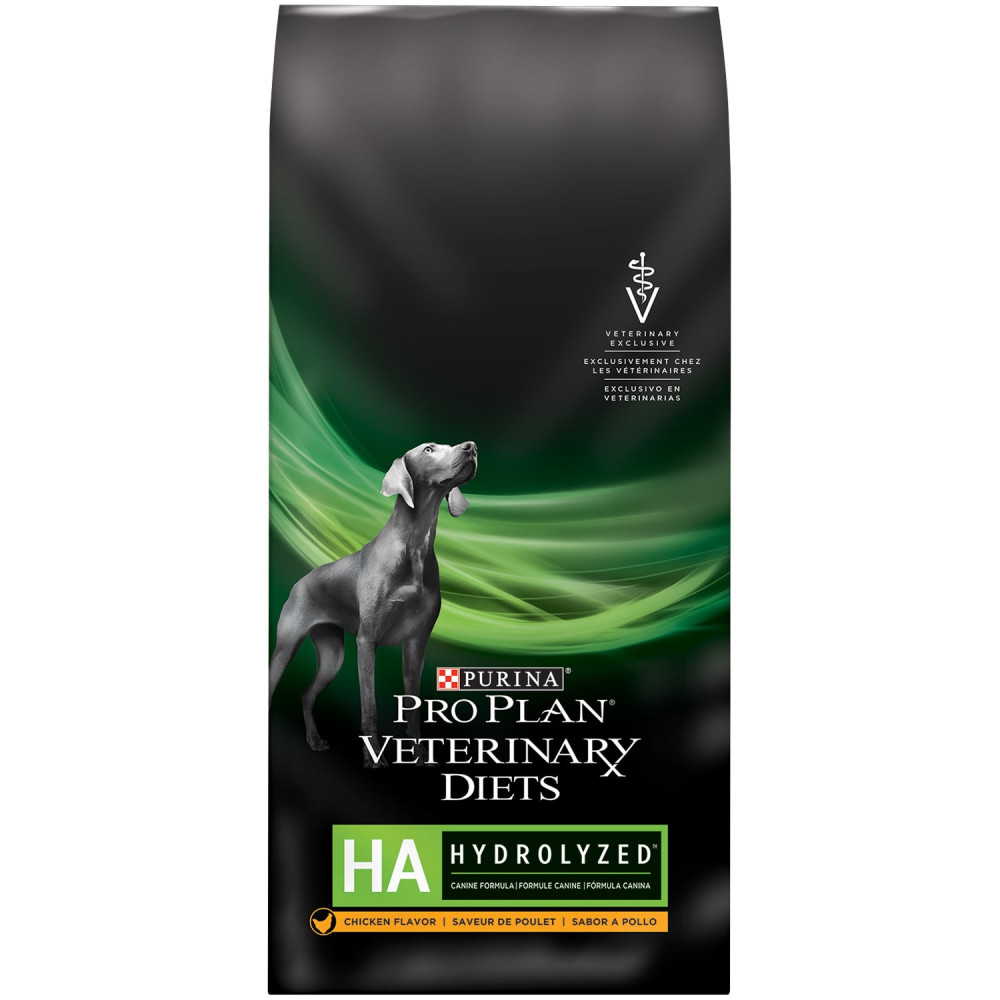 Purina Pro Plan HA Canine dry chicken flavor