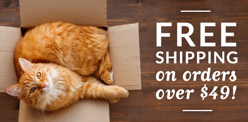 Free Shipping on orders $49 or more!